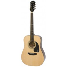 Epiphone Guitar Acoustic DR-100 Natural - Includes Free Softcase