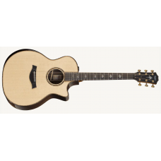 Taylor Guitar 914ce With V-Class Bracing Natural - Includes Taylor Deluxe Hardshell Brown