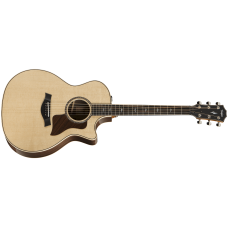 Taylor guitar 814ce With V-class Bracing - Natural - Includes Taylor Deluxe Hardshell Brown