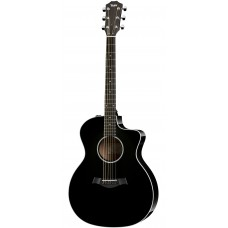 Taylor guitar 214ce Deluxe  Black - Includes Taylor Deluxe Hardshell Brown