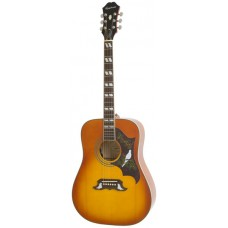 Epiphone Acoustic Electric Guitar Dove PRO - Includes Free Softcase