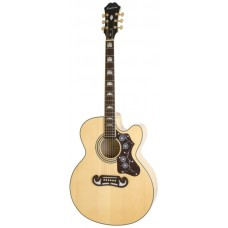 Epiphone Acoustic Electric Guitar EJ-200SCE Natural