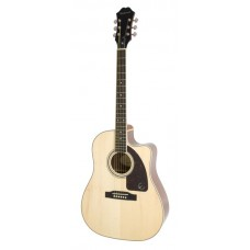 Epiphone Acoustic Electric Guitar AJ-220SCE Natural - Includes Free Softcase
