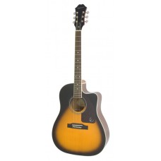 Epiphone Acoustic Electric Guitar AJ-220SCE Vintage Sunburst - Includes Free Softcase