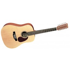 Martin guitar D12X1AE 12-String Dreadnought Acoustic Electric - Includes B02W Padded Case