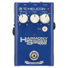 TC Helicon Harmony Singer Guitar-Controlled Harmony 2 + Reverb and Tone - Battery Powered Pedal