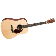Martin guitar DX1AE Solid Top Dreadnought Acoustic Electric - Includes B02W Padded Case