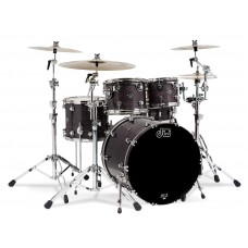 DW Drum Set Performance Finish Ply Series 5 Shells  Bop Kit ( Without Hardware ) - Ebony
