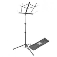 Power Beat Portable Tripod Music Stand With Bag