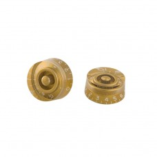 Gibson Speed Knobs 4 Pieces / Pack - Gold