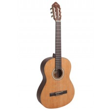 Valencia Classical Guitar Vintage Natural VC404 - Includes Free Softcase