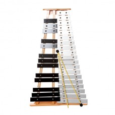 Cpk Xylophone 32 Key Aluminuim Bar - Include Mallet and Hardcase