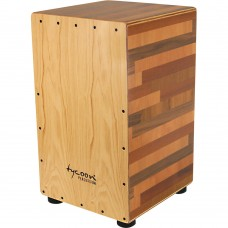 Tycoon Wood Mixture Cajon With North American Ash Front Plate