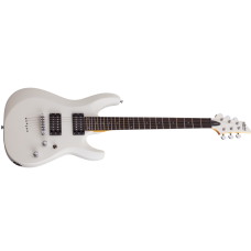 Schecter Electric Guitar C-6 Deluxe - Satin White (SWHT)