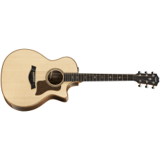 Taylor Guitar 714ce V-Class Grand Auditorium - Natural Lutz Spruce Top - Includes Taylor Deluxe Hardshell Brown