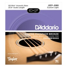 D'addario Bass String Coated Phosphor Bronze Acoustic for GS Mini Bass