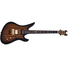 Schecter Electric Guitar  Synyster Custom Sustainiac - Satin Gold Burst (SGB)