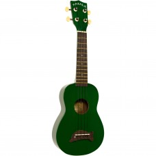 Makala Dolphin Series Soprano Ukulele - Included Bag - Green