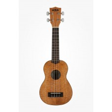 Kala Exotic Mahogany Series Soprano Ukulele - Included Bag - Brown