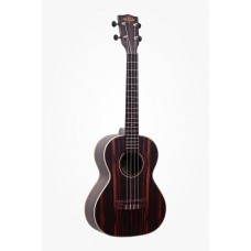 Kala Striped Ebony Series Tenor Ukulele - Included Bag