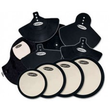 DW Pad Set Complete With BD Cymbal, Head Pads