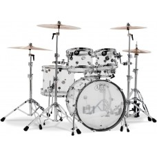 DW Drum Set Design Series 5-piece Shell Pack - Clear Acrylic (Cymbals & Harwdare Not Included)