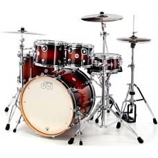 DW Drum Set Design Series 5-piece Shell Pack - Tobacco Burst (Cymbals & Hardware Not Included)