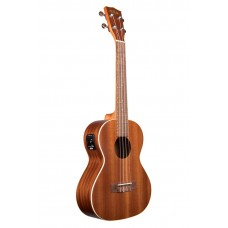 Kala Satin Mahogany Series Tenor Ukulele - With Equalizer - Included Bag