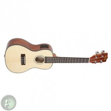 Kala Solid Spruce Top - Mahogany Series Concert Ukulele - With Equalizer - Included Bag
