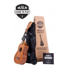 Kala Soprano Ukulele - Learn To Play Ukulele Starter Kit