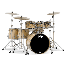 PDP Concept Maple 7-Piece Drum Shell Pack - Natural Lacquer ( Without Cymbals )