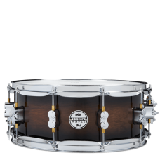 """PDP Concept Exotic Snare 5.5"""" x 14"""" - Walnut Charcoal Burst"""