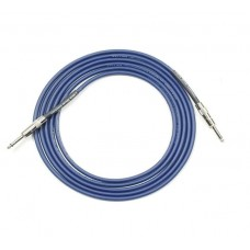 Lava Cable Blue Demon Instrument Cable 10' Straight-Straight - Blue