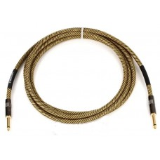 Lava Cable Vintage Tweed Instrument Cable 10' Straight-Straight