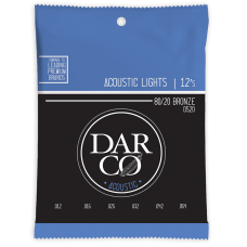 Martin Darco Acoustic String 80/20 Bronze - Light - 0.12 - 0.54 - D520