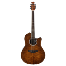 Ovation Applause® Standard Exotic Mid Depth - Semi Acoustic - Vintage Flame