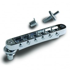 Gibson Accessories Nashville Tune-O-Matic Bridge With Full Assembly - Chrome