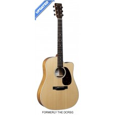 Martin Guitar DC-13E Road Series - Natural - Semi Acoustic - Include Martin Gig Bag