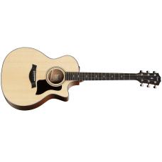 Taylor Guitar 314ce Grand Auditorium - Sapele Back And Sides with V-class Bracing - Includes Taylor Hard Shell Case