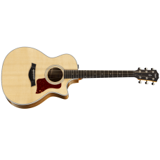 Taylor Guitar 414ce Deluxe Grand Auditorium - Ovangkol Back And Sides - V-class Bracing - Includes Taylor Hard Shell Case