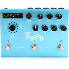 Strymon BigSky Multidimensional Reverb Pedal - Power Supply Included