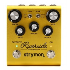 Strymon Riverside Multistage Drive Pedal - Power Supply Included