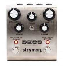 Strymon Deco Tape Saturation and Doubletracker Delay Pedal - Power Supply Included