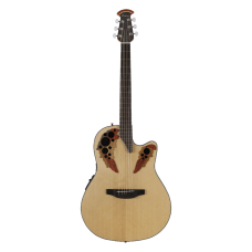 Ovation The Celebrity® Collection Celebrity Elite® Mid Depth Semi Acoustic - Natural