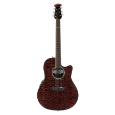 Ovation The Celebrity® Collection Celebrity Standard® Exotic Super Shallow Semi Acoustic - Dark Tiger Eye On Exotic Quilted Maple