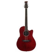Ovation The Celebrity® Collection Celebrity Standard® Mid Depth Semi Acoustic - Ruby Red