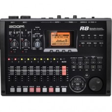 Zoom R8 8-track SD Recorder - Interface - Sampler