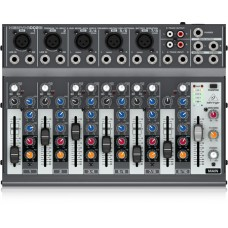 Behringer Premium 10-Input 2-Bus Mixer with XENYX Preamps, British EQs and Optional Battery Operation