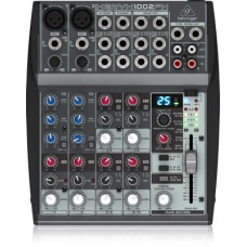 Behringer Premium 10-Input 2-Bus Mixer with XENYX Mic Preamps, British EQs and Multi-FX Processor