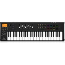 Behringer MOTÖR 61 - 61-Key USB/MIDI Master Controller Keyboard with Motorized Faders and Touch-Sensitive Pads